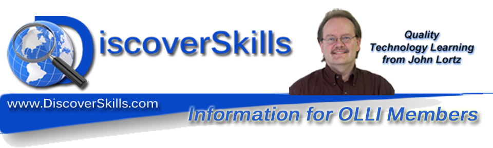 DiscoverSkills – Information for OLLI Members
